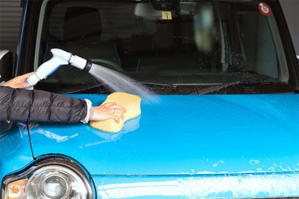 水洗い洗車かシャンプー洗車か