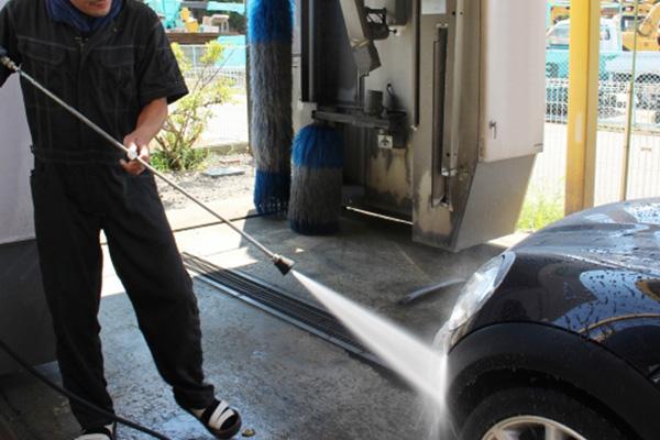 洗車の注意点