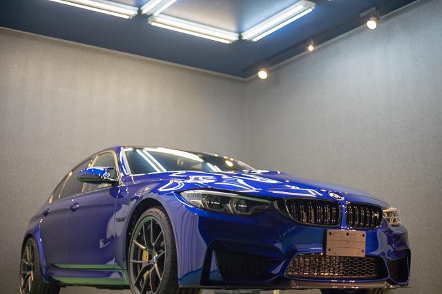 BMWM3 ブース内撮影