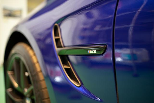 BMW M3 コーティング下地処理