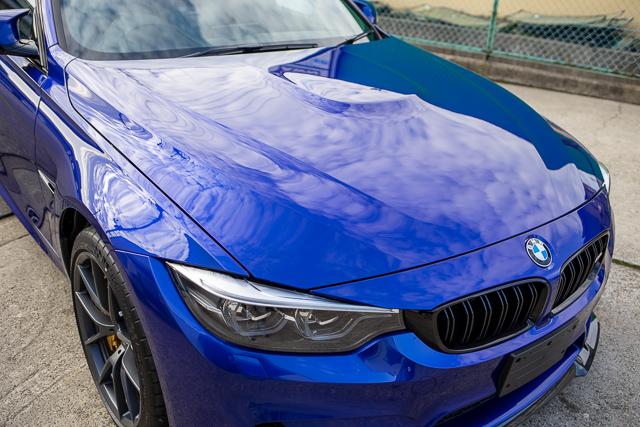 BMW M3 コーティング後屋外
