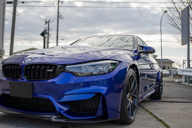 BMWM3ガラスコーティング(新潟)